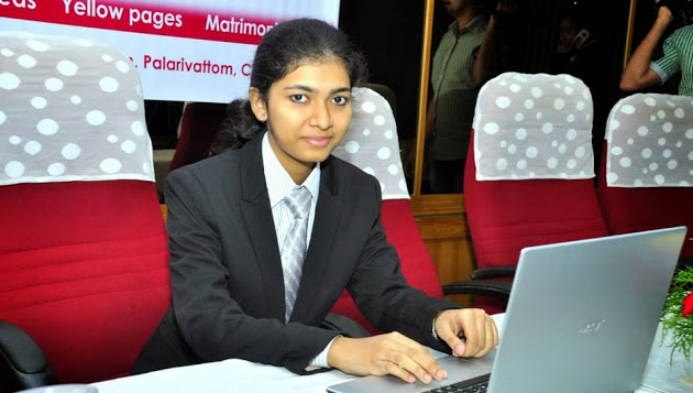 Meet Sreelakshmi Suresh: A CEO Website Designer and a CEO at The Age Of 6